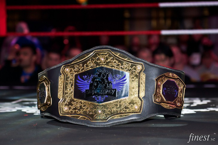 Supremacy title belt