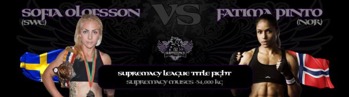 5. fightcard - Olofsson vs Pinto