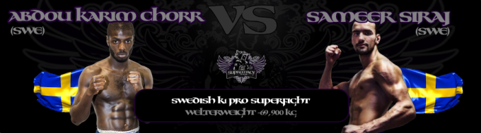 fightcard - Chorr vs Siraj