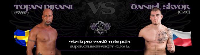 fightcard - Pirani vs Skvor